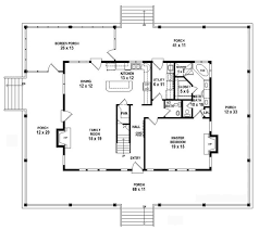 country style floor plans 653784 1 5 story 3 bedroom 2 5 bath country farmhouse style