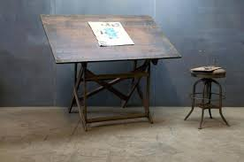 Drafting Table With Light Vintage Drafting Table Architects Cantilever Drafting Table