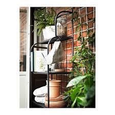 ikea hindo läckö shelving unit outdoor gray balconies gardens and patios