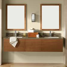 elegant bathroom floor cabinet with wicker wastebasket ideas and