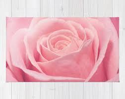 Pink Bedroom Rug Pink Nursery Rug Etsy