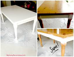 Painting Furniture White by Updating Furniture With White Spray Paint