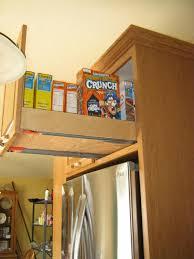 top of fridge storage cabinets over top of fridge