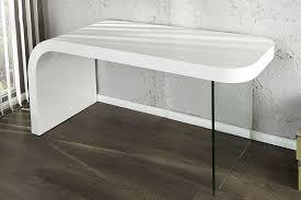 bureaux blanc laqué bureau design blanc laque et verre timmen of bureau moderne blanc
