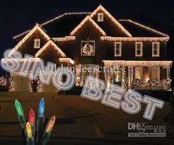 Cheap Christmas Lights Outdoor 110 Led Icicle Lights Christmas Holiday Fairy Lighting