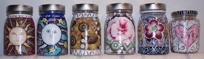 simple glass painting ideas for recycled jars lynda makara