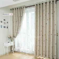 rideaux pour chambre bébé rideau chambre enfant rideau tamisant prt poser pour