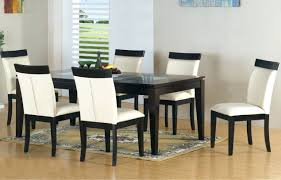 dining chairs set of 4 white leather dining chairs dining room