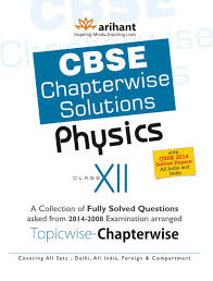 cbse chapterwise solutions physics class 12 buy cbse