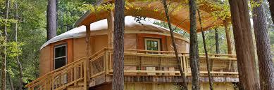 yurt retreat facilities at camp cho yeh in livingston tx