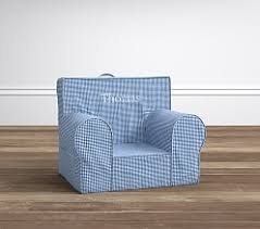 Gingham Armchair Chairs For Children U0026 My First Chair Pottery Barn Kids
