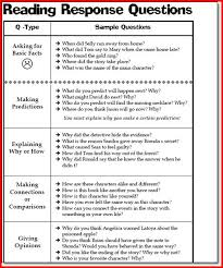 reading response worksheets kristal project edu hash