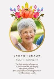 free memorial card templates greetings island