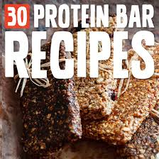 30 superpowered protein bars to fuel your body paleo grubs