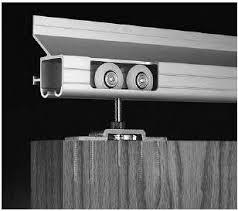 Barn Door Box Rail 350 Lb Capacity Sliding Door Hardware Heavy Duty Barn Door Hardware
