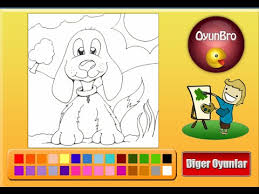 dog coloring pages kids dog coloring pages games