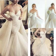 sweety with detachable overskirt bridal dresses sweetheart with