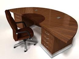 Semi Circular Reception Desk Office Furniture Round Table Richfielduniversity Us