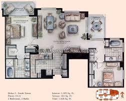 symphony condo fort lauderdale floorplans