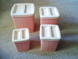 vintage kitchen canisters farm pink all kinds of for the vintage kitchen