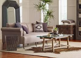 one cushion sofa brown leather sofa with toss pillows and