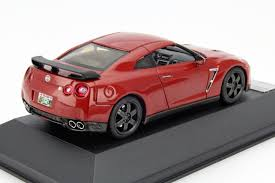 Nissan Gtr Black Edition - nissan gt r r35 black edition 2015 red die cast model premium