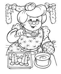 281 holiday christmas santa coloring art print pages