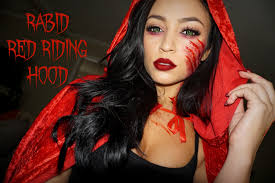 rabid red riding hood halloween tutorial stephanie ledda youtube