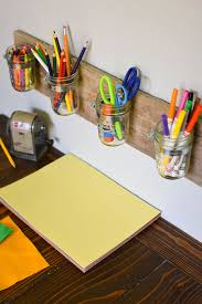 how to make a creative storage solution for kids diy mason jar