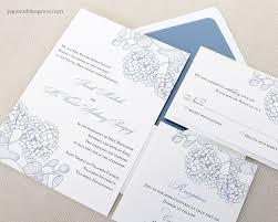 hydrangea wedding invitations paperwhites wedding invitations