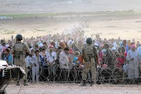 It Is Being Reported That Turkish Military Forces Have by U S Response To Refugee Crisis Is Nowhere Near That Of Europe
