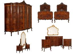 Antique Bedroom Furniture by Antique Bedroom Sets Baroque Chippendale 1940s