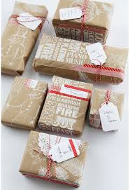 brown gift wrapping paper 15 creative ways to wrap with brown paper apartment therapy