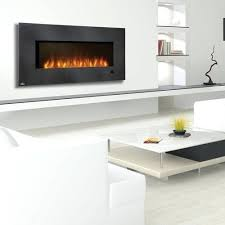 Napoleon Electric Fireplace Napoleon Azure Series Wall Mount Built In Electric Fireplace
