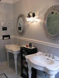 Silver Bathroom Sink Remodelaholic Gorgeous Complete Bathroom Transformation Gut