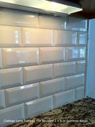 How To Install Bevel Edge Tile Beveled Tile Beveled Subway Tile - Beveled subway tile backsplash