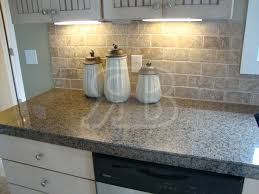 Granite Countertops And Kitchen Tile Granite Tile Countertops Without Grout Lines Desert Brown 18x31