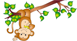 cute monkey cartoon coloring pages clip art library