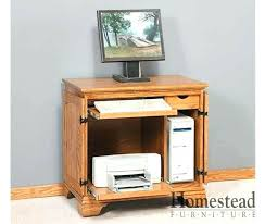 Drop Leaf Computer Desk Glendale Laptop Desk Armoire Small Miniature Drop Leaf