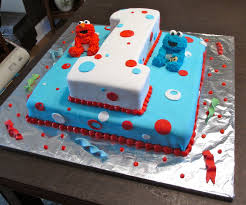 first birthday elmo cake by keep it sweet on deviantart holiday