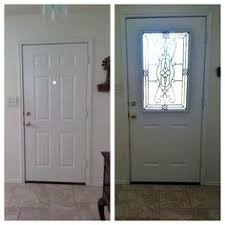 patio door glass inserts before and after images of a french door zabitat removed the