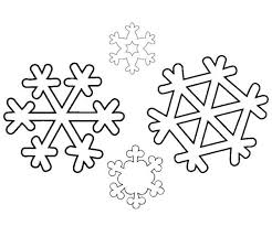 identical winter snowflakes coloring identical 13579