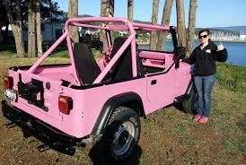1989 jeep wrangler yj project episode 2 meet bright pink