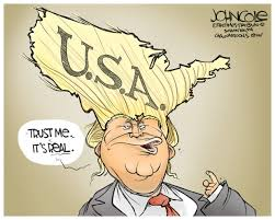 drawn donald trump wins presidency 50 cartoons