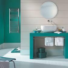 Salle De Bain Bathroom Accessories by Tendance Une Salle De Bain En Turquoise Cozy Place