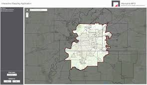 Houston City Limits Map Interactive Map Memphis Mpo