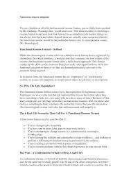 functional resume description 9 hybrid resume exle authorize letter exam sevte