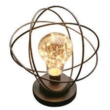 Atomic Lighting Table Desk L Atomic Age Led Metal Accent Light Free