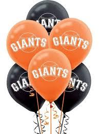 balloon delivery in san francisco san francisco giants balloons 6ct party city canada