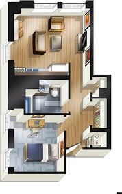 Bedroom Floor Plans Apartments For Rent In Downtown Chicago The Buckingham Chicago